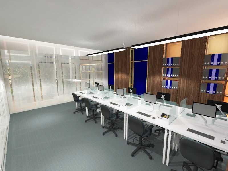 Foto inspirasi ide desain ruang meeting minimalis 4 oleh TMS Creative di Arsitag