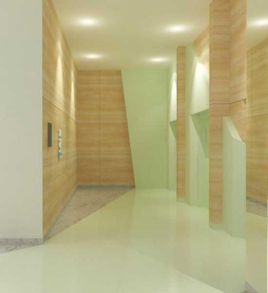 Foto inspirasi ide desain lobby kontemporer Lift lobby oleh TMS Creative di Arsitag