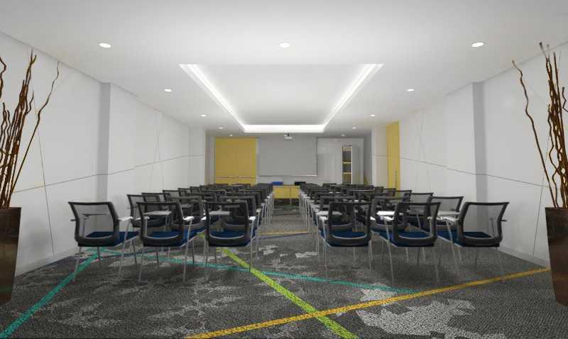 Foto inspirasi ide desain ruang meeting kontemporer Conference room oleh TMS Creative di Arsitag