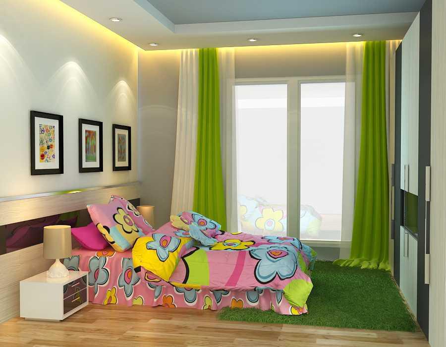Foto inspirasi ide desain kamar tidur anak modern Kamar-anak-l1-c-final oleh alexander cal di Arsitag