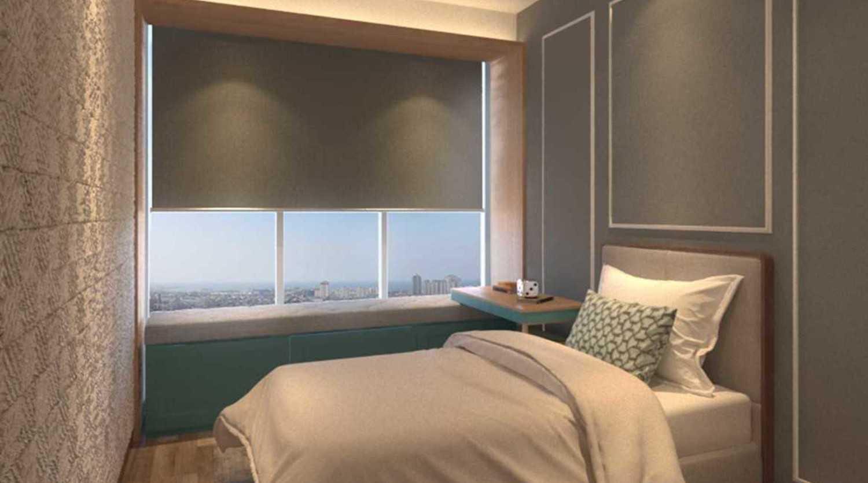 Foto inspirasi ide desain apartemen asian Bedroom oleh Cross Space Interior di Arsitag