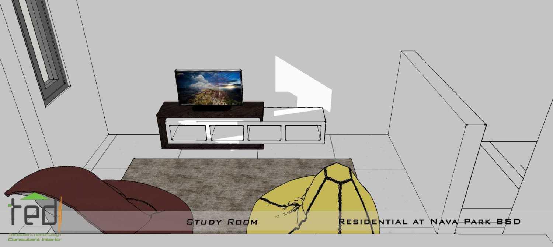 Foto inspirasi ide desain ruang belajar modern Study room oleh Pd Teguh Desain Indonesia di Arsitag