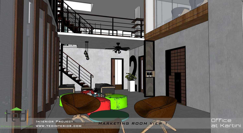 Foto inspirasi ide desain ruang meeting industrial Marketing room oleh Pd Teguh Desain Indonesia di Arsitag