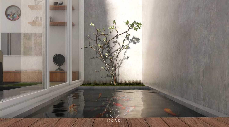 Foto inspirasi ide desain kolam skandinavia Fish pond oleh Localic Studio di Arsitag