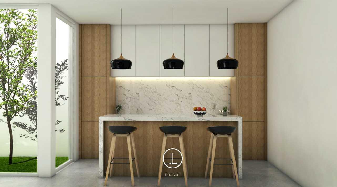 Foto inspirasi ide desain ruang makan skandinavia Pantry area oleh Localic Studio di Arsitag