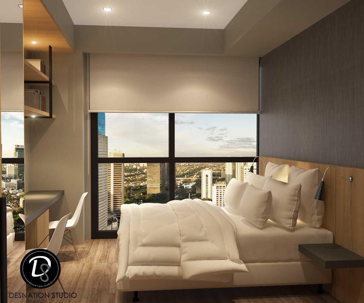 Foto inspirasi ide desain kamar tidur anak modern Kids bedroom oleh Desnation Studio di Arsitag