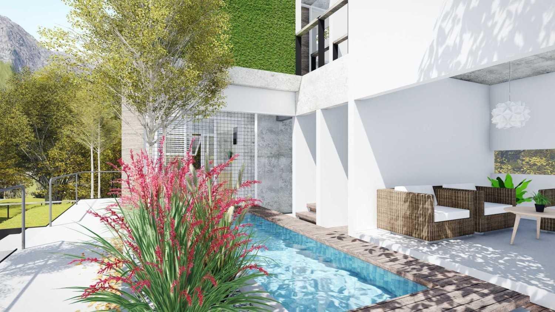 Foto inspirasi ide desain kolam minimalis Swimming pool oleh DFORM di Arsitag
