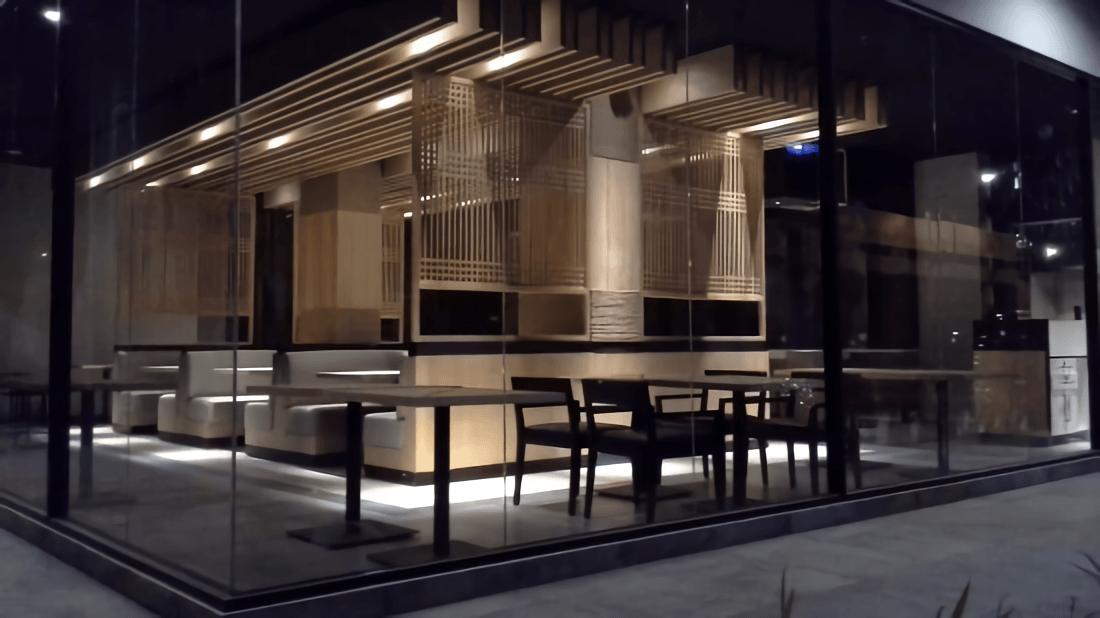 Foto inspirasi ide desain restoran asian Outside view oleh alradistadesign di Arsitag
