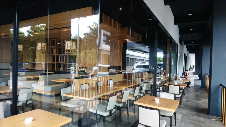 Foto inspirasi ide desain restoran asian Dining area oleh alradistadesign di Arsitag