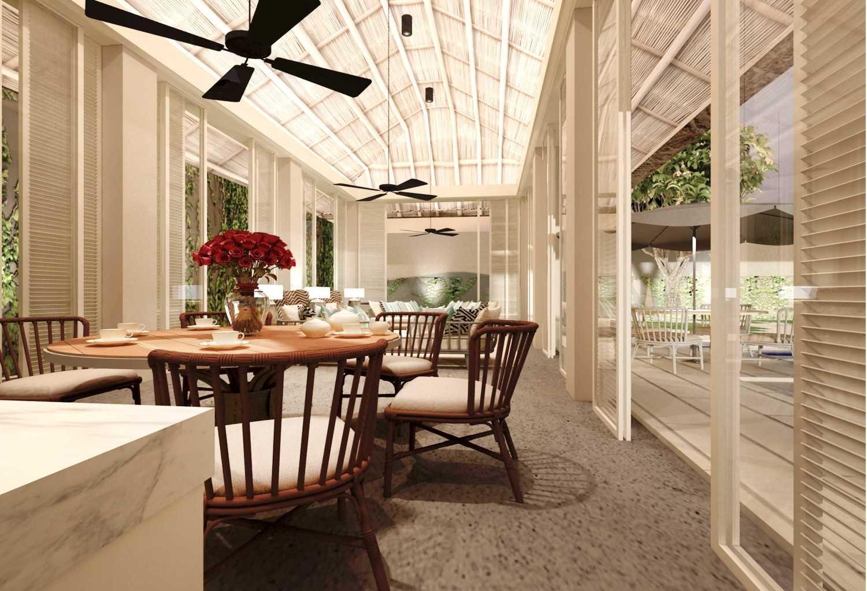 Foto inspirasi ide desain ruang makan tradisional Dining room oleh Rinto Katili di Arsitag