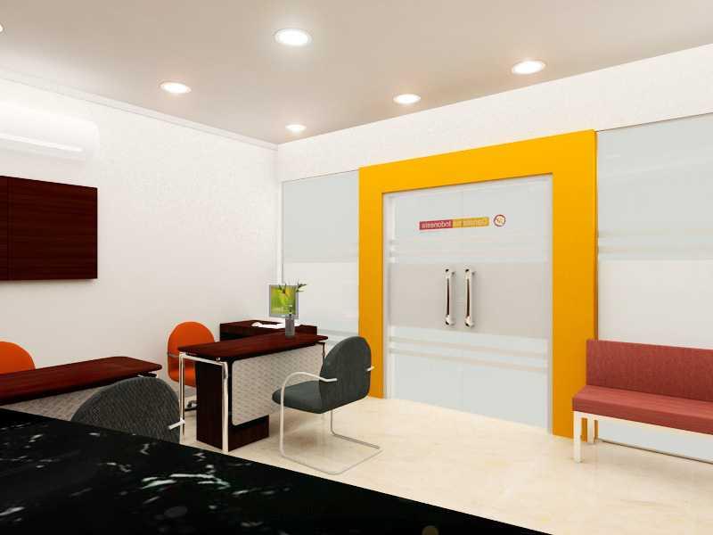 Foto inspirasi ide desain entrance minimalis Entrance oleh Rinto Katili di Arsitag