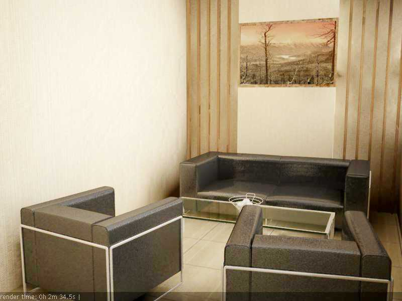 Foto inspirasi ide desain ruang meeting minimalis Ruang tamu khusus oleh Rinto Katili di Arsitag