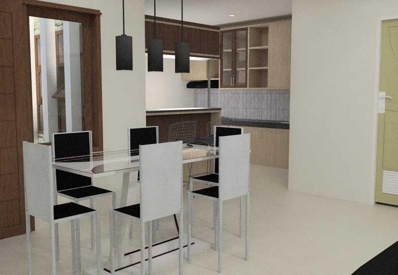Foto inspirasi ide desain ruang makan skandinavia Dining room oleh Eko Sulistiyono di Arsitag