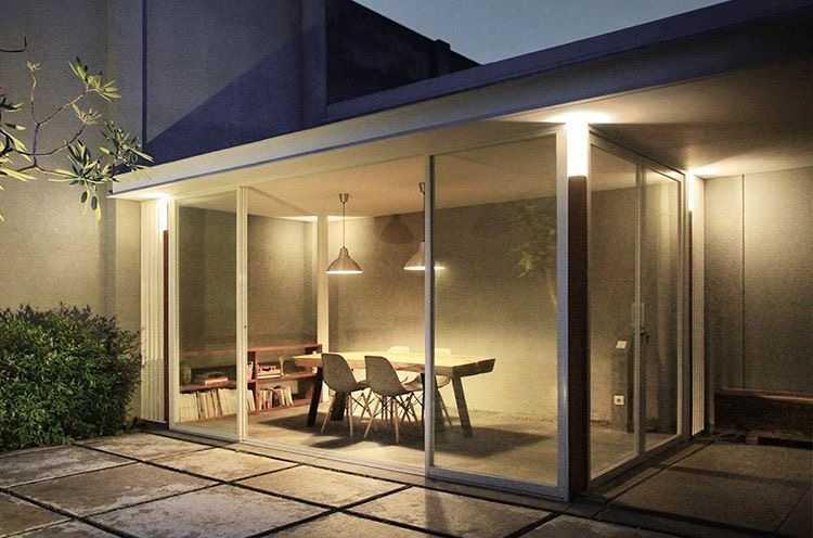 Foto inspirasi ide desain ruang meeting industrial Meeting room oleh Adrian Eka di Arsitag