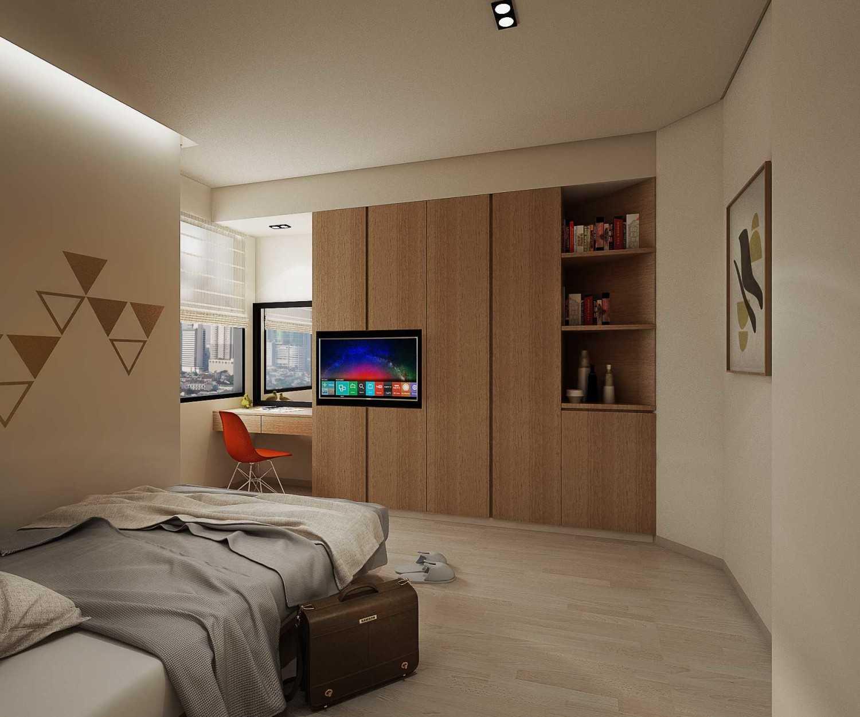 Foto inspirasi ide desain kamar tidur anak modern Bedroom view oleh Meili Darmasetiawan di Arsitag