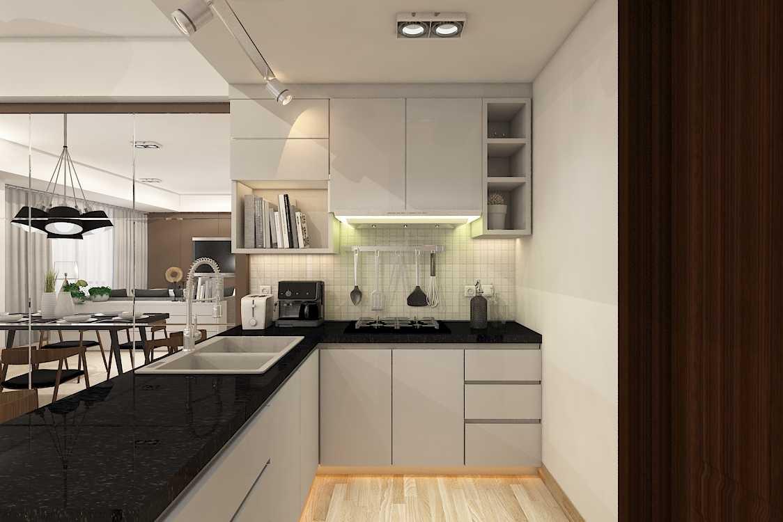 Foto inspirasi ide desain dapur modern Kitchen room oleh MIMO HOME INTERIOR DESIGN & BUILD di Arsitag