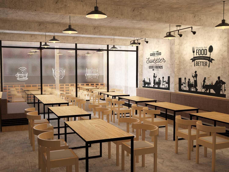 Foto inspirasi ide desain ruang makan industrial Dining room oleh PARADES Studio di Arsitag