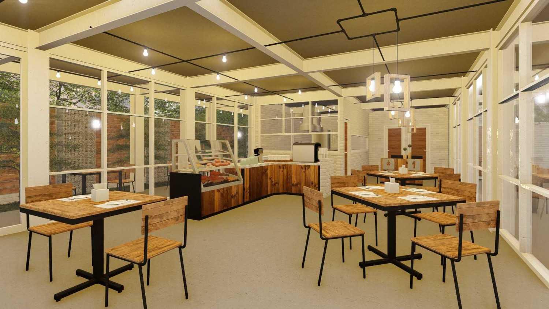 Foto inspirasi ide desain ruang makan industrial Dining room oleh IDZ Architecture di Arsitag