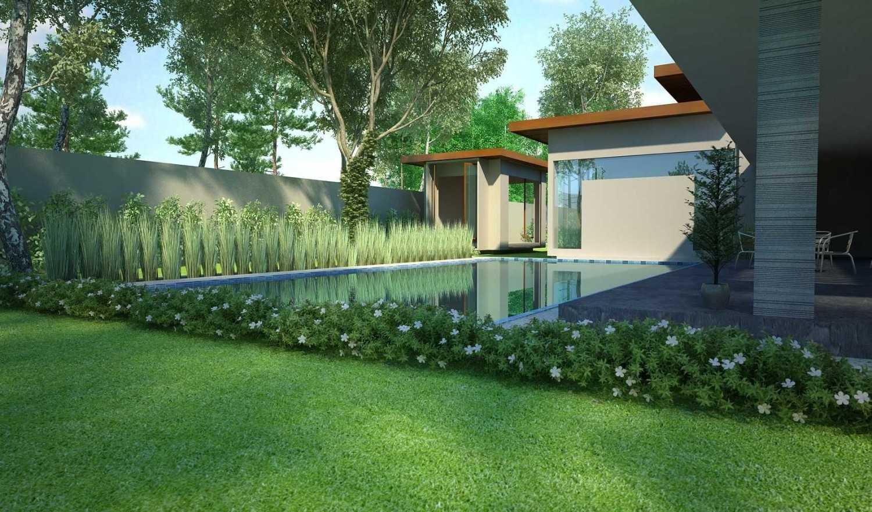 Foto inspirasi ide desain kolam minimalis 5-2 oleh Erik Supriatna di Arsitag