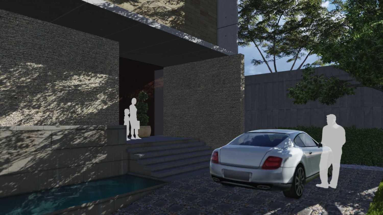 Foto inspirasi ide desain entrance minimalis Entrance oleh Monoarch di Arsitag