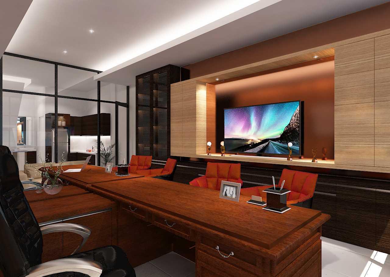 Foto inspirasi ide desain ruang kerja minimalis Workroom oleh Fanny Felina Architecture & Interior Design di Arsitag