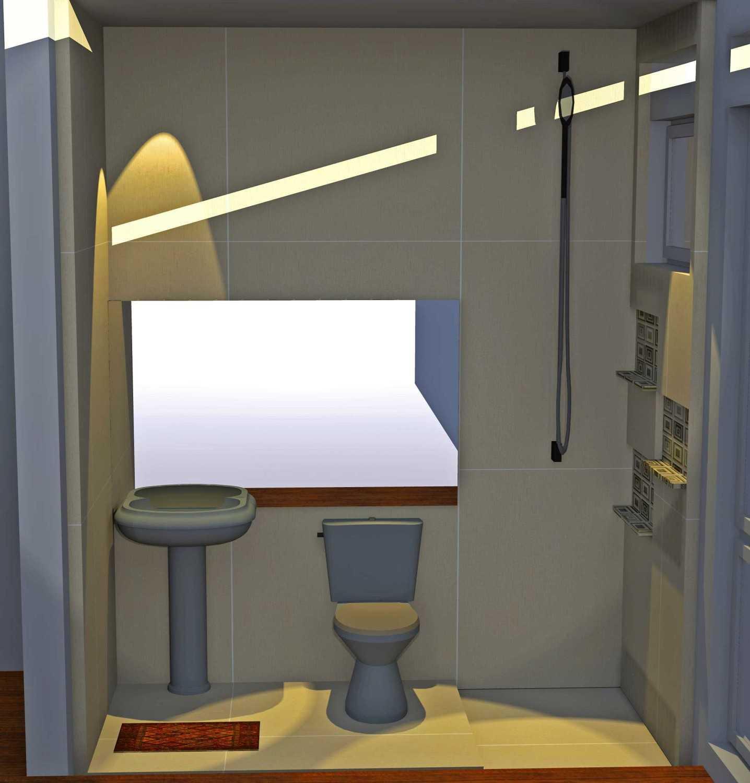 Foto inspirasi ide desain rumah asian Kids bathroom oleh Smarchdesign12 di Arsitag