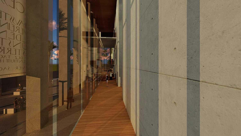 Foto inspirasi ide desain koridor minimalis Corridor oleh Samitrayasa Design di Arsitag