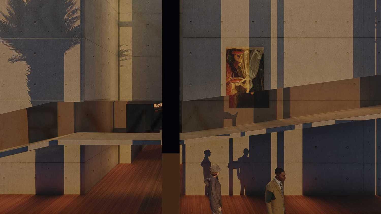 Foto inspirasi ide desain entrance minimalis Entrance oleh Samitrayasa Design di Arsitag
