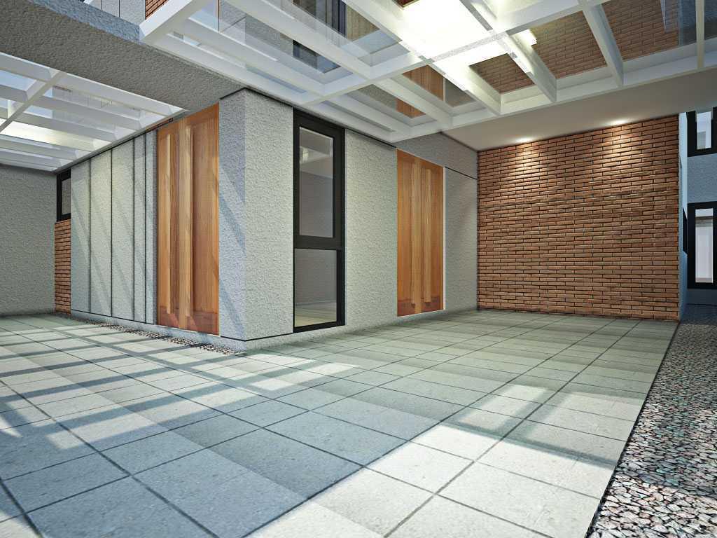 Foto inspirasi ide desain garasi industrial 02-carport oleh Zigzag Architecture Studio di Arsitag