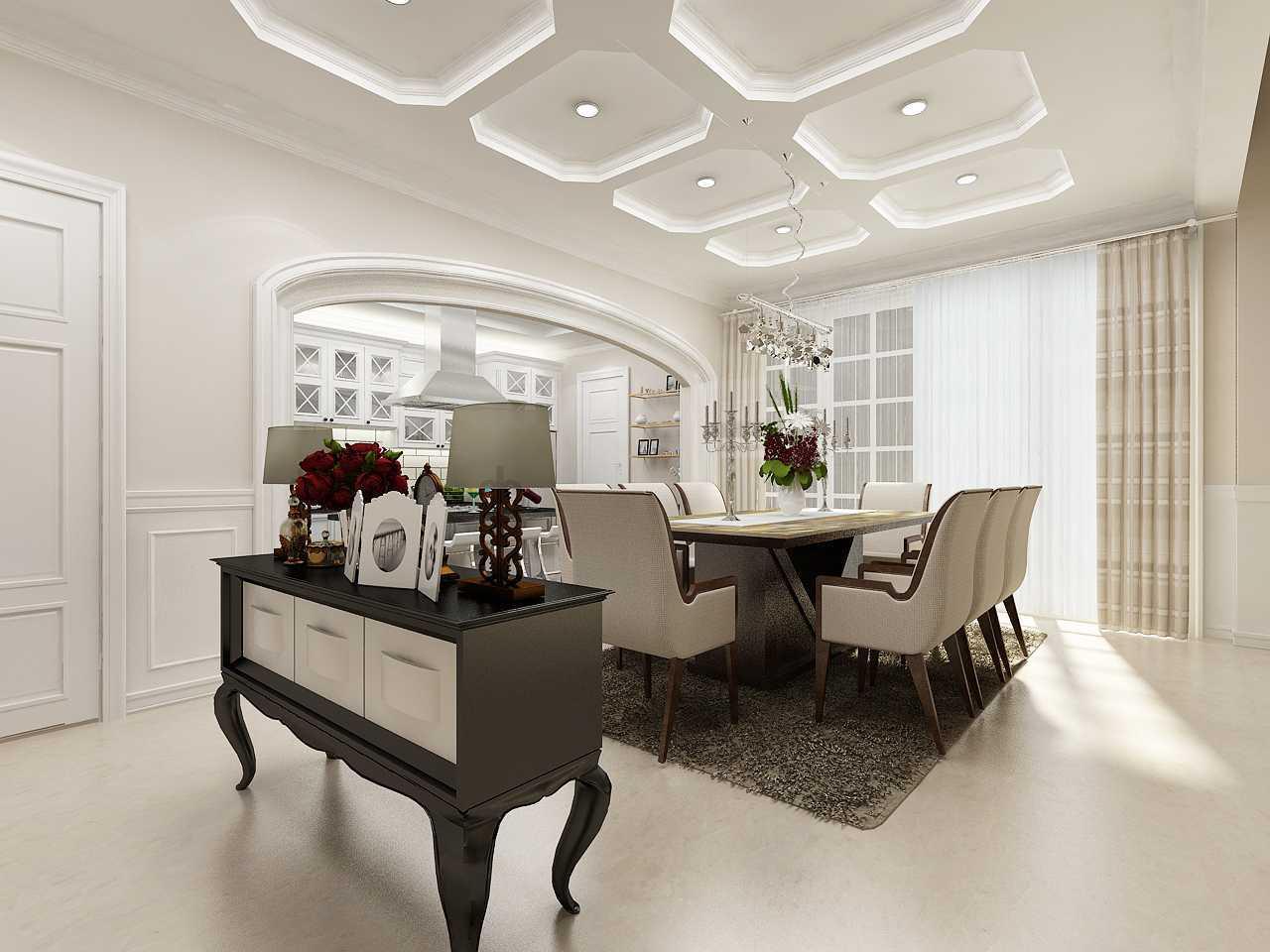 Foto inspirasi ide desain ruang makan klasik Dining-hcopy oleh Kreasi Wirawan Mandiri di Arsitag