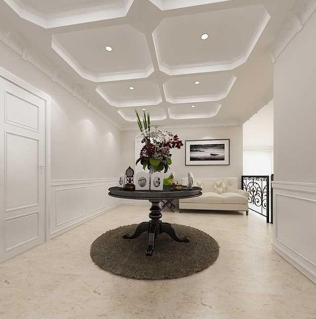 Foto inspirasi ide desain koridor klasik Foyer-1copy oleh Kreasi Wirawan Mandiri di Arsitag
