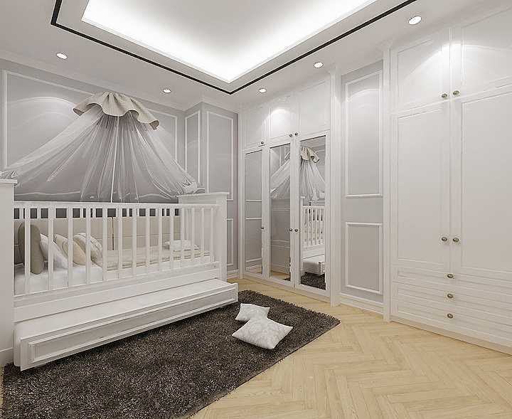 Foto inspirasi ide desain kamar tidur anak transitional Kid-bedroom-copy- oleh Kreasi Wirawan Mandiri di Arsitag