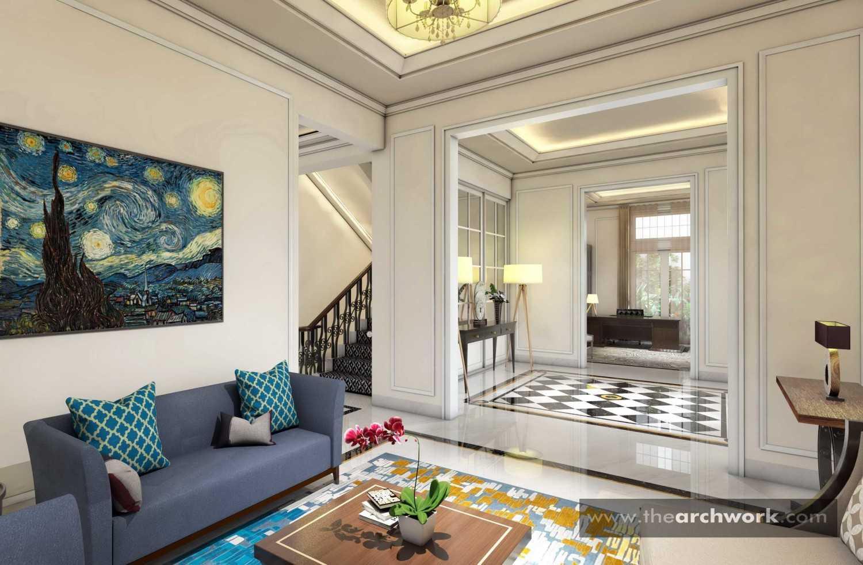 Foto inspirasi ide desain rumah victorian Living room oleh Archwork di Arsitag