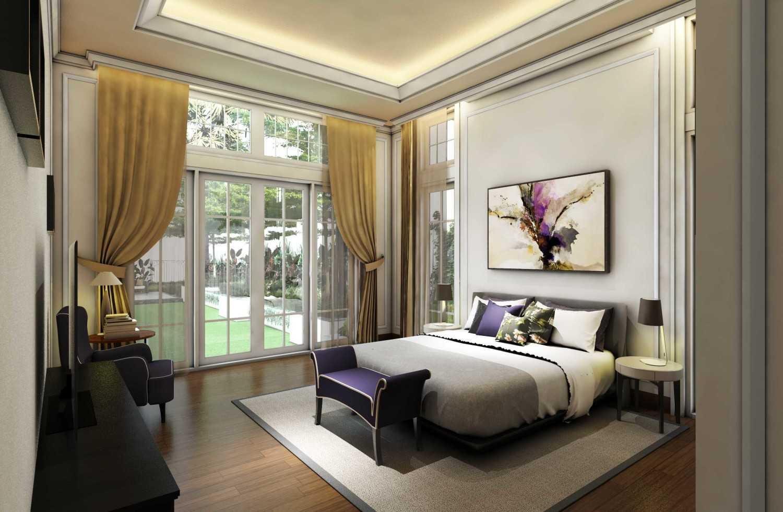 Foto inspirasi ide desain kamar tidur victorian Bedroom oleh Archwork di Arsitag