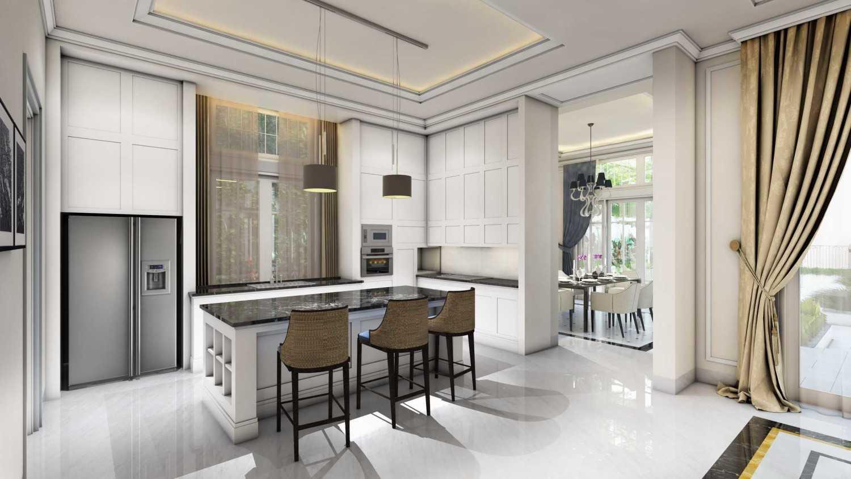 Foto inspirasi ide desain dapur victorian Kitchen room oleh Archwork di Arsitag