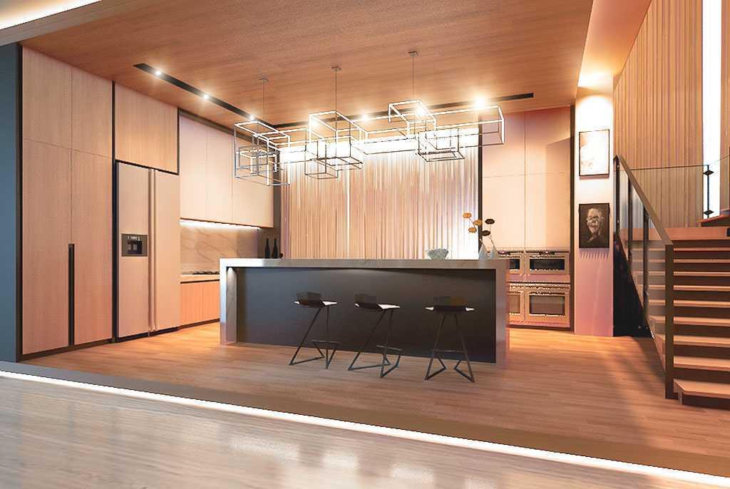 Foto inspirasi ide desain dapur skandinavia Kitchen area oleh VIcasso Interior di Arsitag