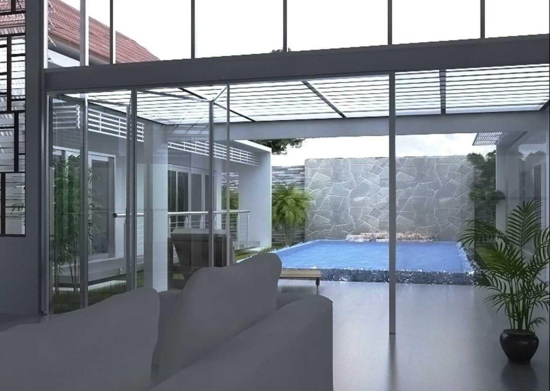 Foto inspirasi ide desain kolam minimalis Swimming pool view oleh Vastu Cipta Persada di Arsitag