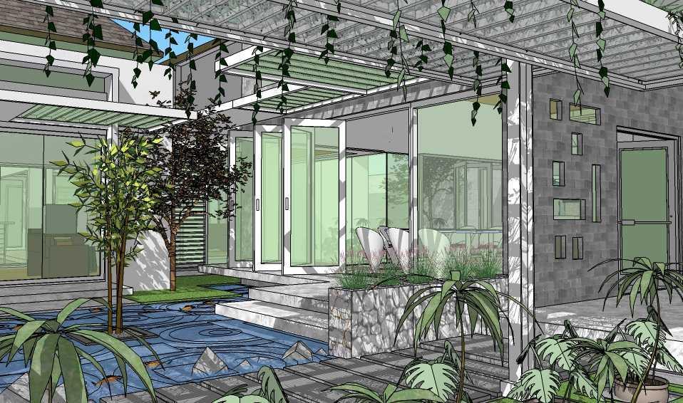 Foto inspirasi ide desain taman minimalis Concept of garden oleh Vastu Cipta Persada di Arsitag