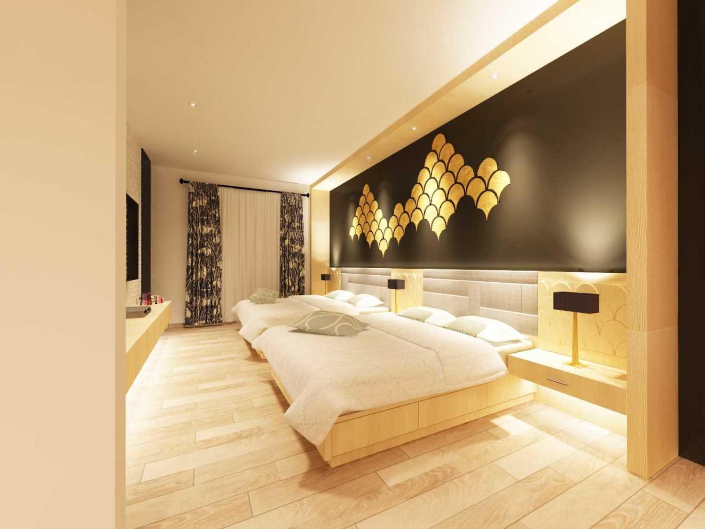 Foto inspirasi ide desain kamar tidur eklektik Bedroom oleh Koerie Design di Arsitag