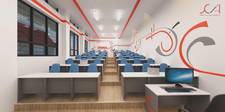 Foto inspirasi ide desain ruang belajar minimalis Class room oleh SCIArchitecture di Arsitag