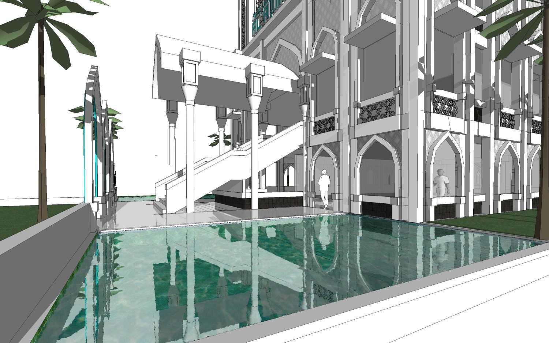 Foto inspirasi ide desain kolam klasik Pond oleh Arsigram di Arsitag