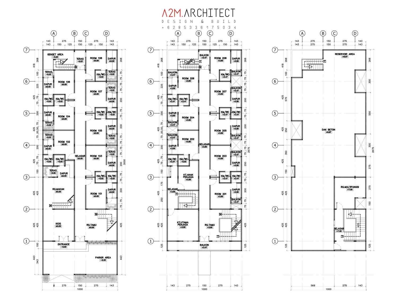 Jasa Arsitek A2m Architect Indo di Luwu Timur