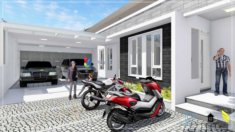 Foto inspirasi ide desain garasi modern Parking area oleh Pionner Architect di Arsitag