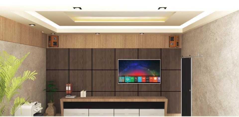 Foto inspirasi ide desain ruang meeting minimalis Meeting room oleh Interior eksterior depok di Arsitag