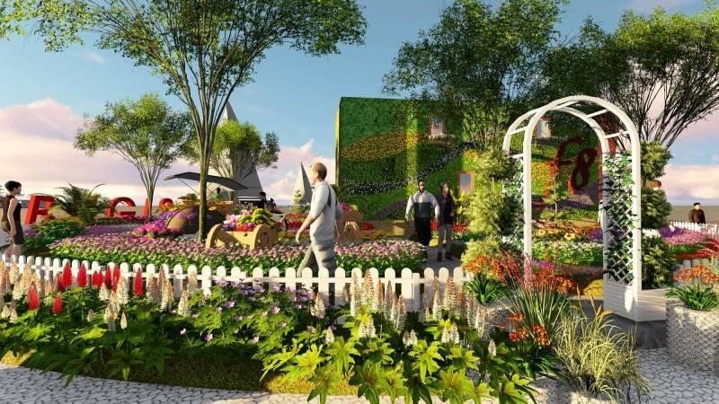 Miv Architects (Ar. Muhammad Ikhsan Hamiru, Iai & Partners) Design Of Flower Art Zone For Makassar International Eight Festival (September 8-10 2016) At Losari Beach, Makassar City, Indonesia Makassar, Sulawesi Selatan, Indonesia Makassar, Sulawesi Selatan, Indonesia Photo-6160 Tropis 6160