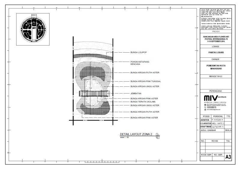 Miv Architects (Ar. Muhammad Ikhsan Hamiru, Iai & Partners) Design Of Flower Art Zone For Makassar International Eight Festival (September 8-10 2016) At Losari Beach, Makassar City, Indonesia Makassar, Sulawesi Selatan, Indonesia Makassar, Sulawesi Selatan, Indonesia 12B Tropis 7040