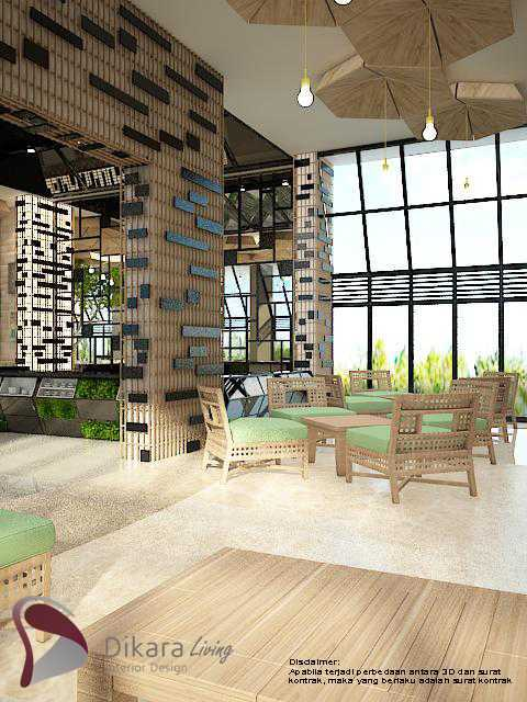 Photo The Lounge Lobby Eco Green With Industrial Interior